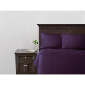Deep purple Egyptian cotton sheet set. (Mine is by the brand Canopy though Walmart  sc 1 st  Pinterest & Deep purple Egyptian cotton sheet set. (Mine is by the brand ...