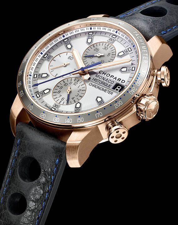La Cote des Montres : La montre Chopard Grand Prix de Monaco Historique 2016 Race Edition - One man, One machine - Un homme, Une machine