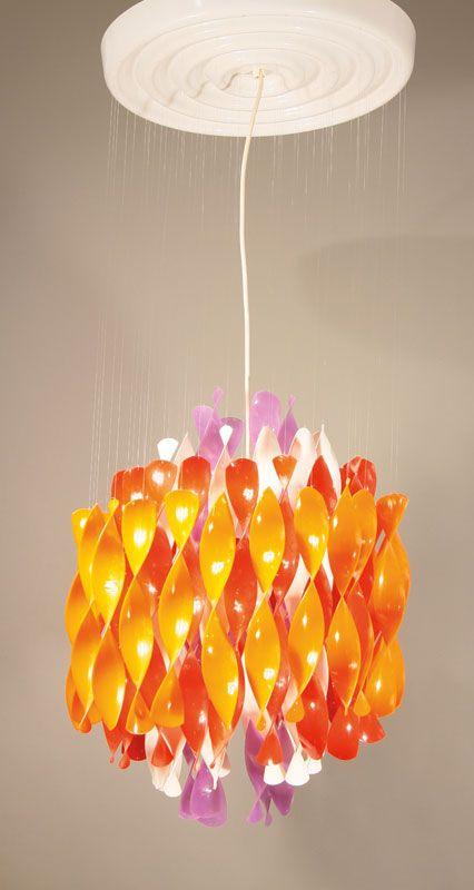 Plastic Ceiling Light Verner Panton 1969 Schone Lampen Hangeleuchte Auktion