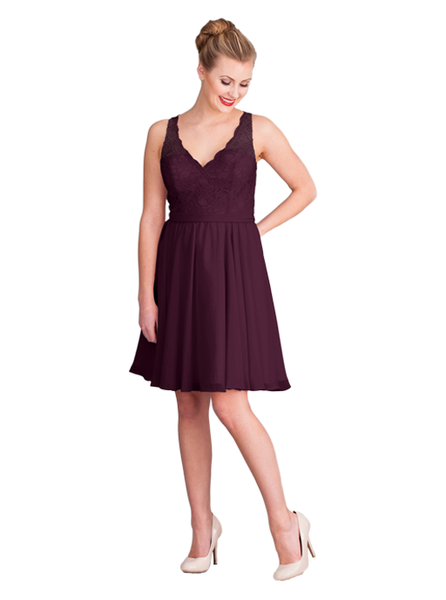 Comfortable, classic, and undeniably charming, the Kennedy Blue Peyton bridesmaid dress is one that your 'maids will want to wear over and over again.