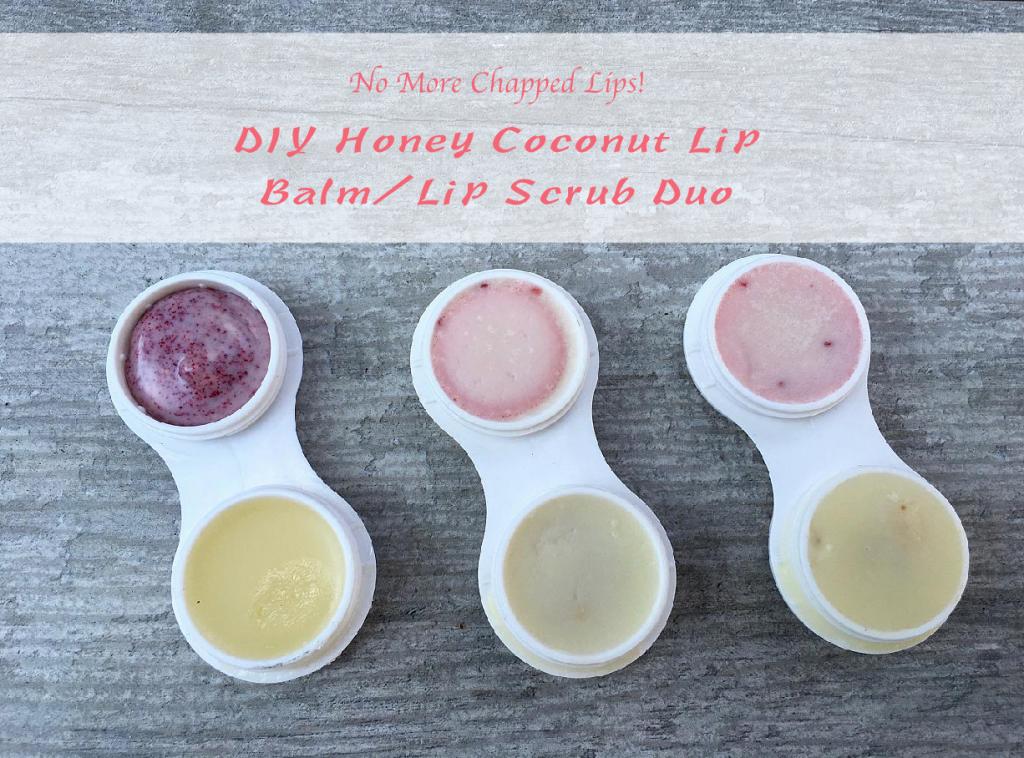 DIY Honey Coconut Lip Balm/Lip Scrub Duo – Sophie Uliano