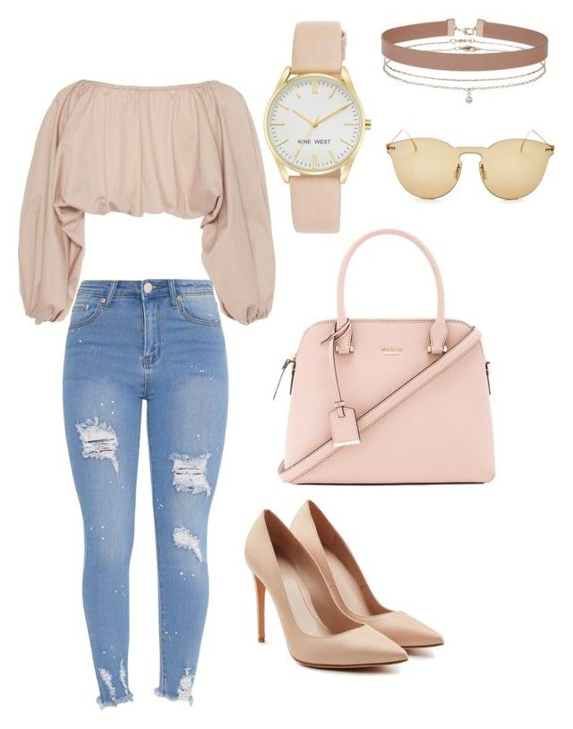 dd59bbc039f1 by kaylah-kimiora on Polyvore featuring Nine West