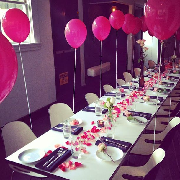 Attractive Ideas For Birthday Dinner Party Part - 4: Mattieologie: My Birthday Dinner With Delicia