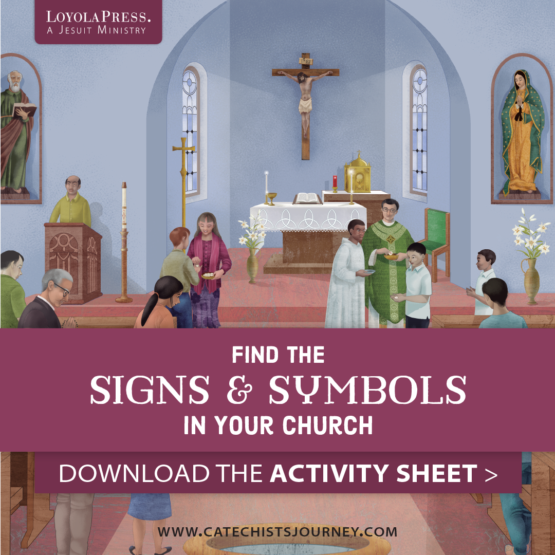 Downloadable Worksheet Find The Signs And Symbols In Your