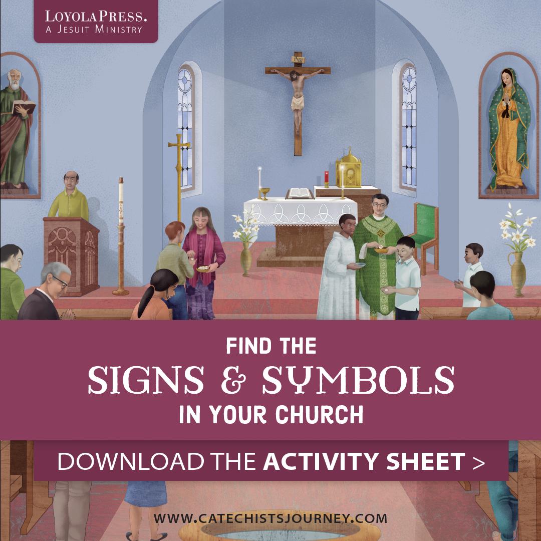 Catholic Church Worksheet For Kindergarten