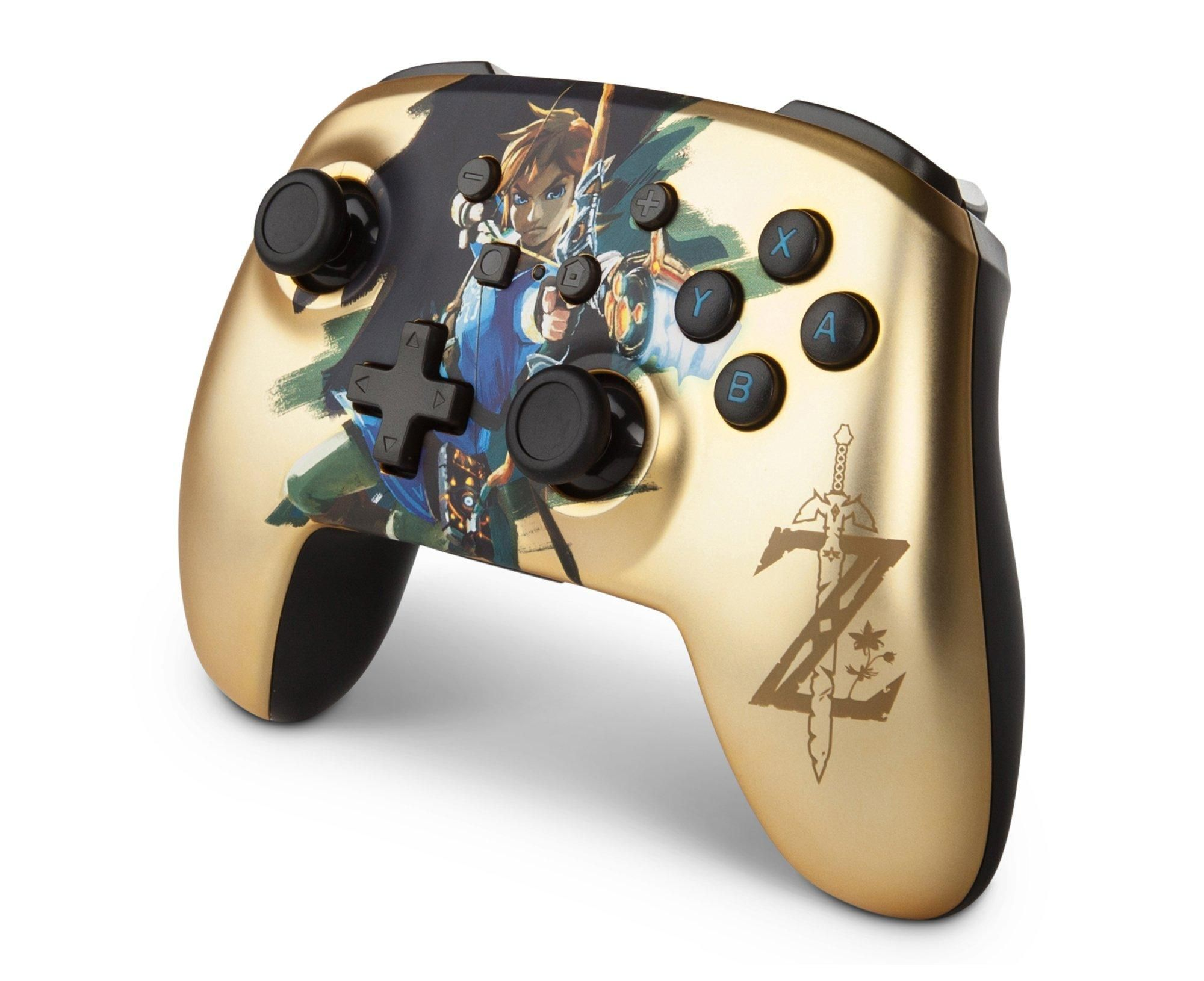 The Legend Of Zelda Link Enhanced Wireless Controller For Nintendo Switch Only At Gamestop Nintendo Switch Gamestop Nintendo Switch Wireless Controller Buy Nintendo Switch