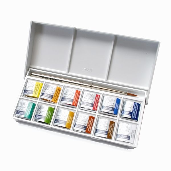 Winsor Newton Cotman Pocket Watercolor Set Winsor And Newton
