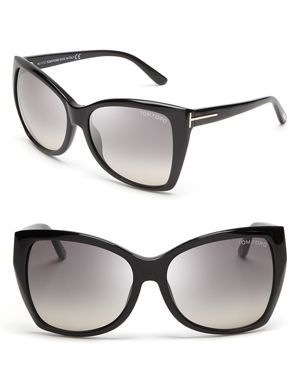 3e574d93be6 Tom Ford Carli Oversize Square Cateye Sunglasses....LOVE these ...