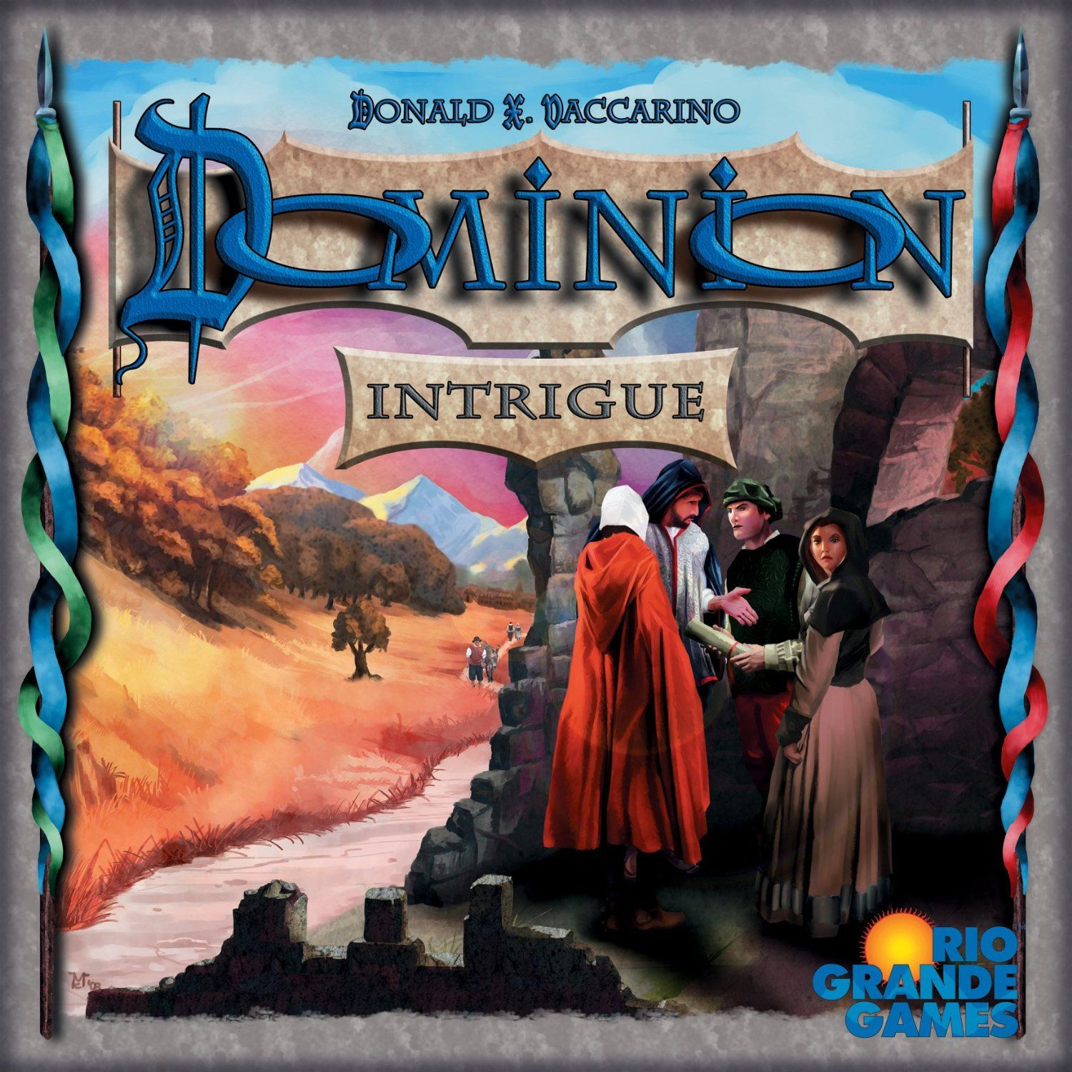 Dominion Intrigue: expansion set  Cause we are board game nerds!
