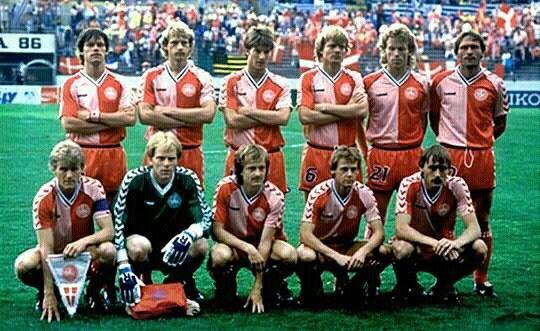 Dinamarca Con Imagenes Mexico 86 Dinamarca Futbol Soccer