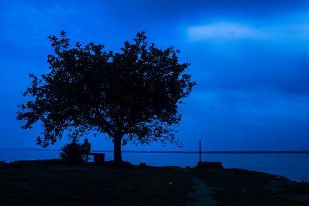 Evening Landscape Outdoor Celestial