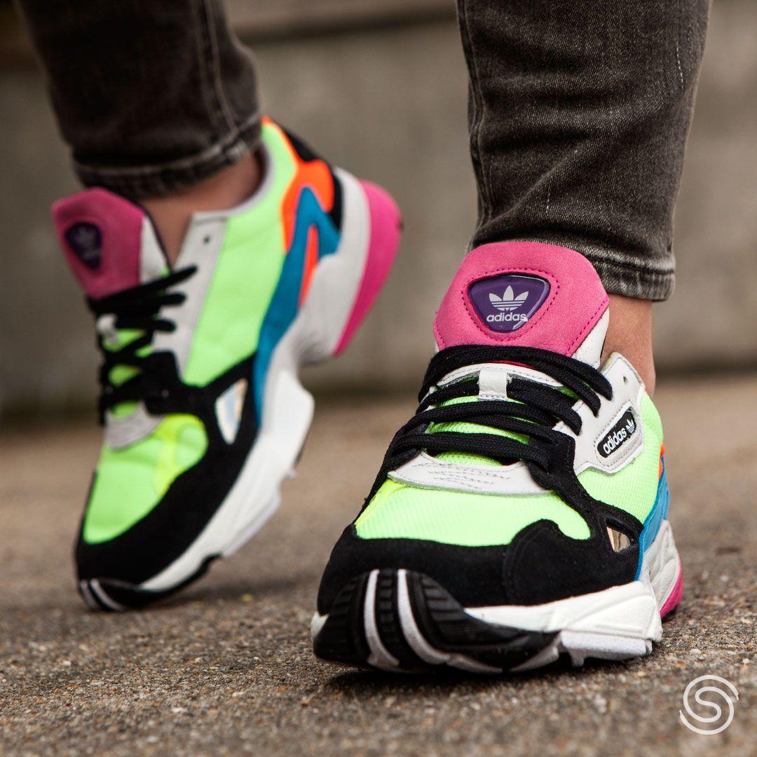adidas Falcon dames | Adidas, Damessneakers, Sneaker