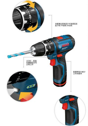 Rechargeable Percussion drill screwdriver
