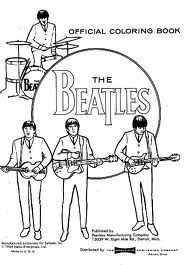 Beatles Coloring Pages Google Search The Beatles Beatles Drawing Beatles Art