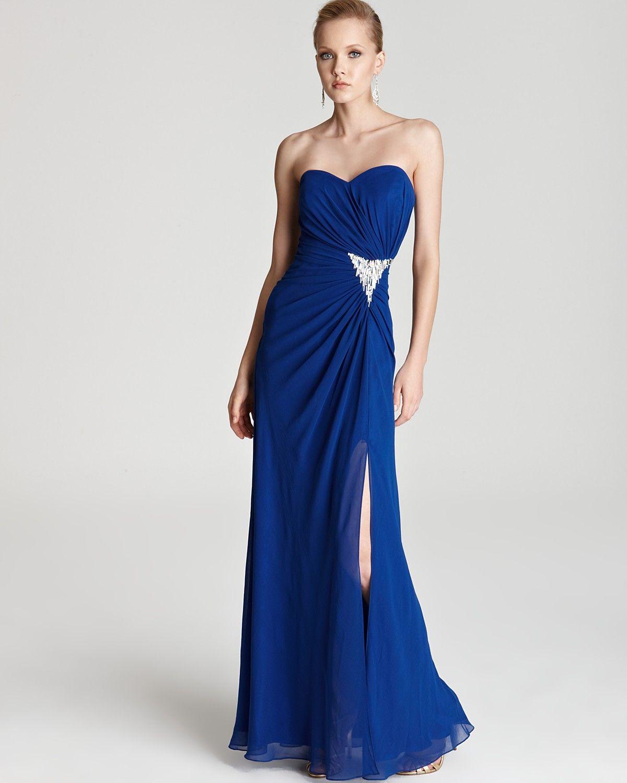 Faviana Couture Faviana Strapless Dress Open Back Women Dresses Bloomingdale S Dresses Strapless Dress Formal Sweetheart Dress [ 1500 x 1200 Pixel ]
