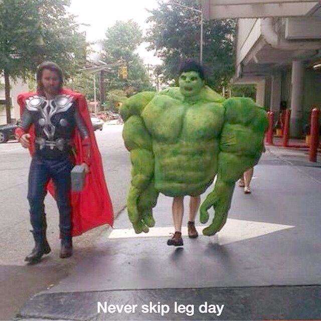 Don T Skip Leg Day Www Jekyllhydeapparel Com Funny Pictures