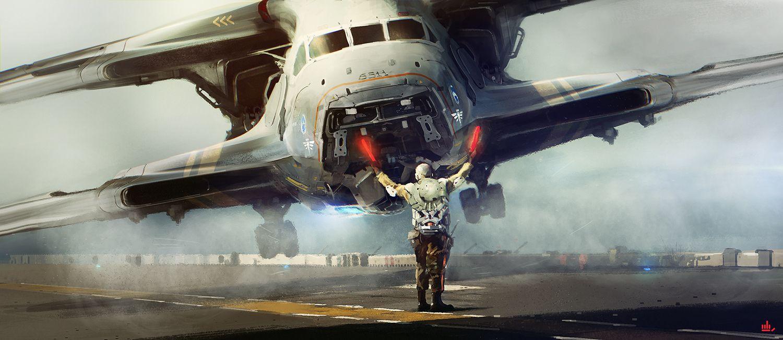 Illustration Concept ships, Concept art, Spaceship concept