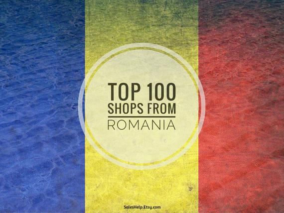 Top Etsy Shops ROMANIA, Best Local Shops, Sales Analysis, Top Shops List, Popular Etsy…