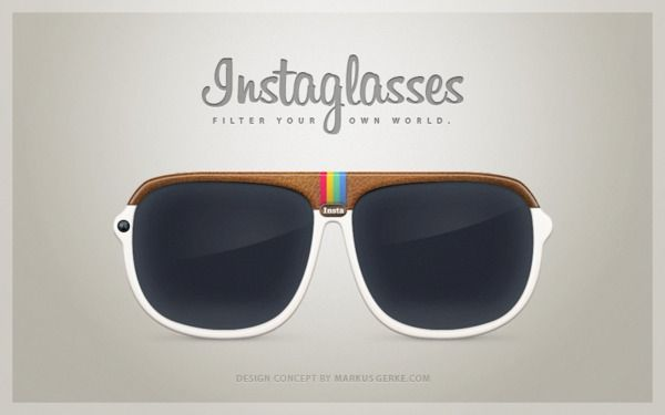 "These ""Instaglasses"" concept glasses let you view the world through the prism of retro photography."