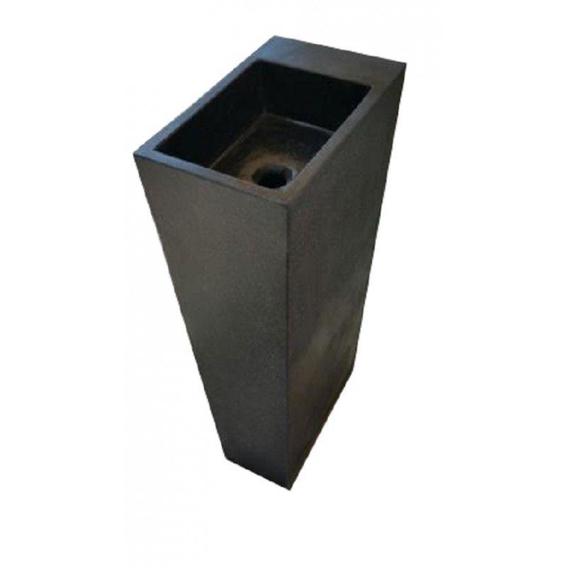 Lave-main Néptune en terrazo noir … | Pinterest