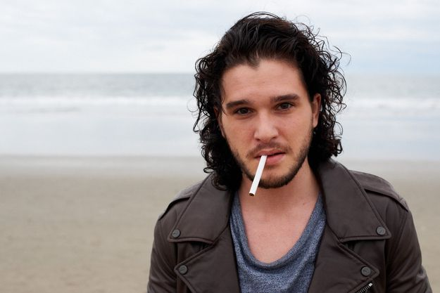 Kit Harrington Gets Soaking Wet In New Photoshoot