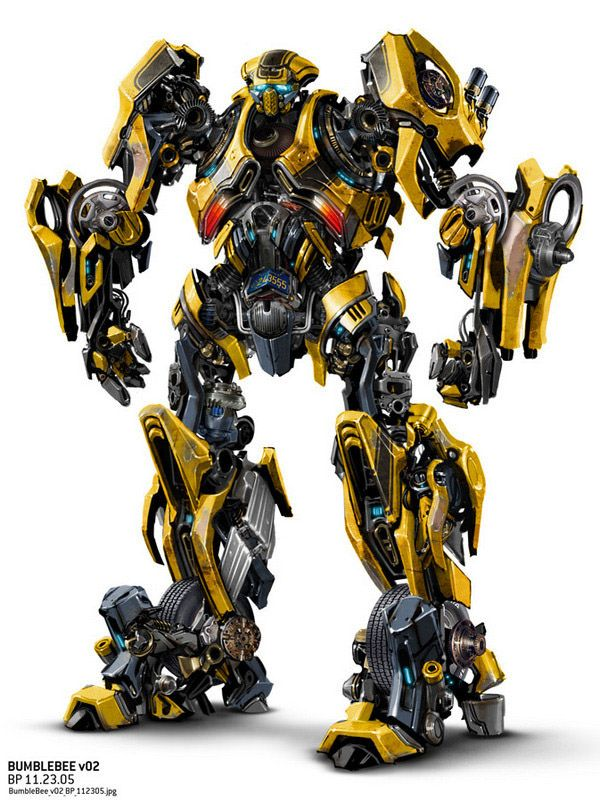 Transformers 4 New Robot Designs