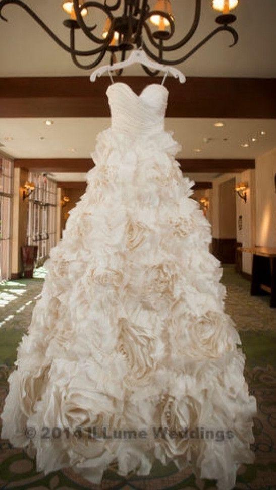 Monique Lhuillier Sunday Rose Someday Wedding Dresses Wedding