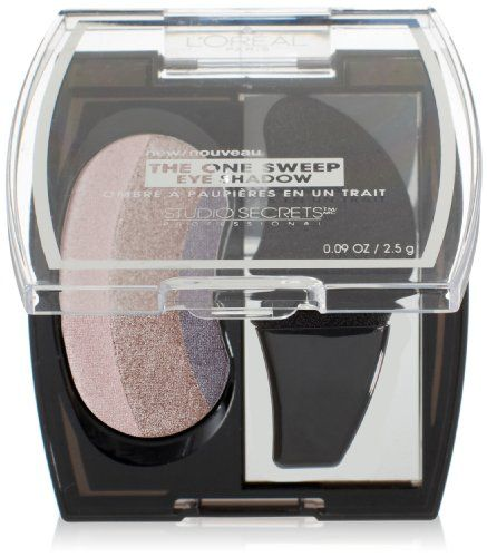 Save $1.40 on L'Oreal Paris Studio Secrets Professional The One Sweep Eye Shadow, Playful for Brown Eyes, 0.09 Ounces; only $7.59