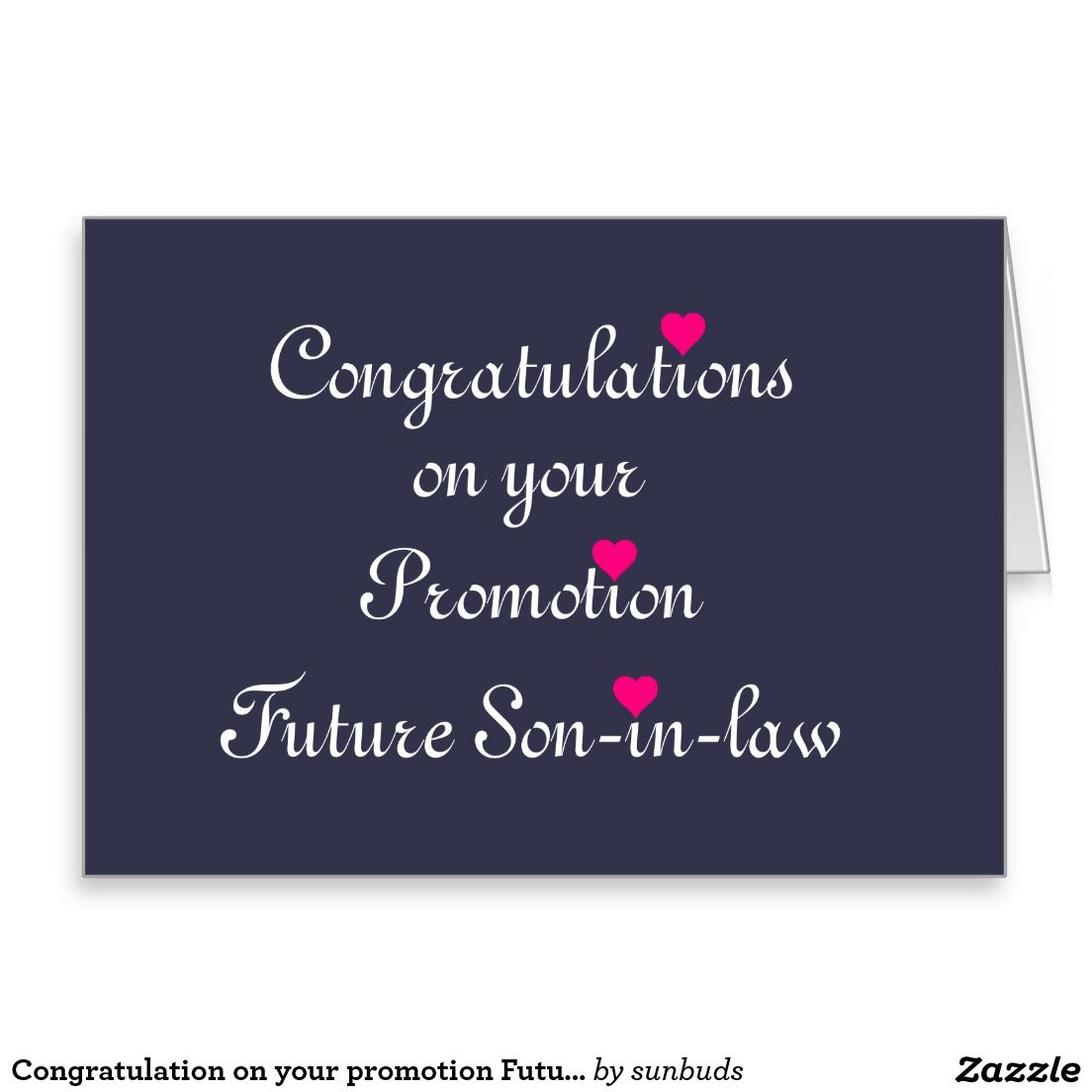 congratulation on your promotion future son in law card sons congratulation on your promotion future son in law card