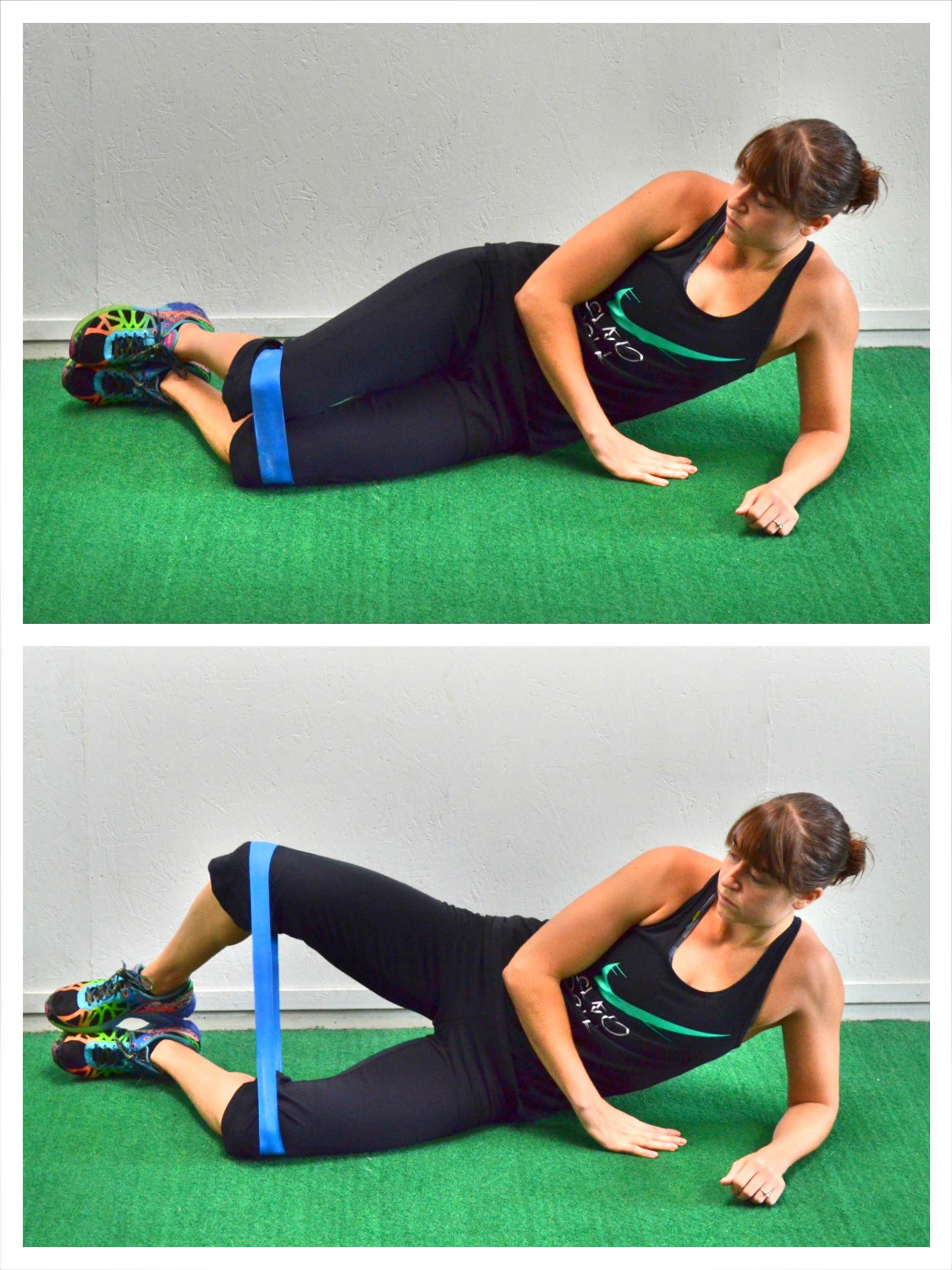 d04c312a3 Crazy hard glutes workouts using a resistance band More