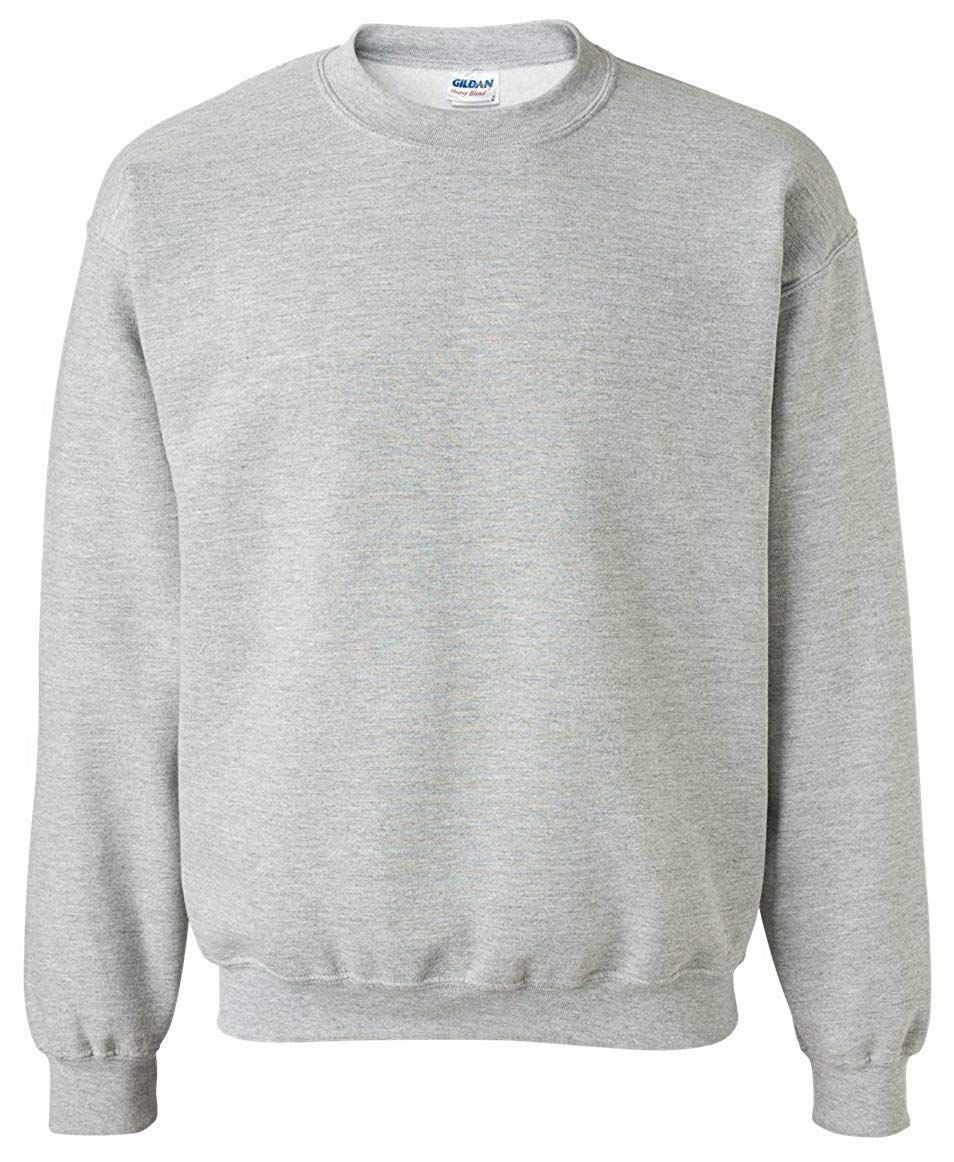 Amazon Com Gildan Activewear Men S Heavy Blend Crewneck Sweatshirt S Sport Grey Clothing Sweatshirts Crew Neck Sweatshirt Mens Activewear [ 1162 x 954 Pixel ]