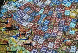 Yann Arthus Bertrand tapis