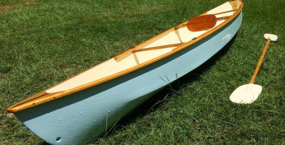 juniper blue « moccasin 14' solo canoe build blog   Build A