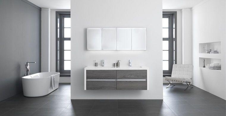 Vasca Da Bagno Con Nicchia : Arredare il bagno con una vasca freestanding e mobile di legno