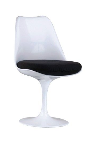 Tulip Swivel Dining Chair   White By Dulce Modern Mid Century Furniture On @ HauteLook