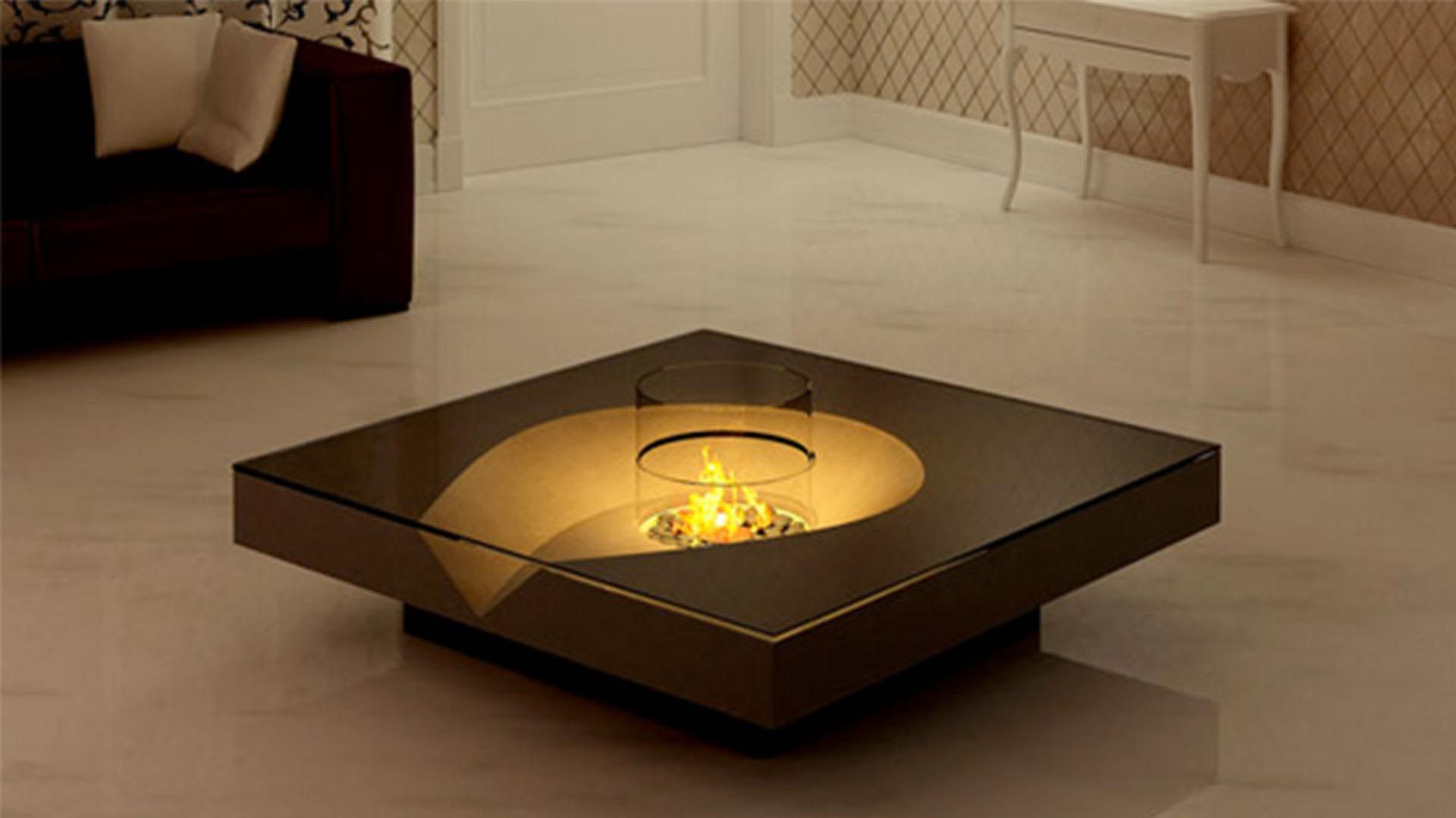 Indoor Coffee Table Fire Pit Unusual Coffee Tables Unique