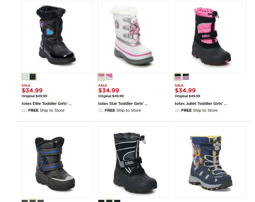 Kohls Childrens Snow Boots in 2020