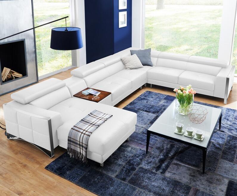 Modern Corner Sofas And Leather Corner Sofas For Sofa Set Living Room Furniture White Sofa Design Furniture Design Living Room Interior Decorating Living Room