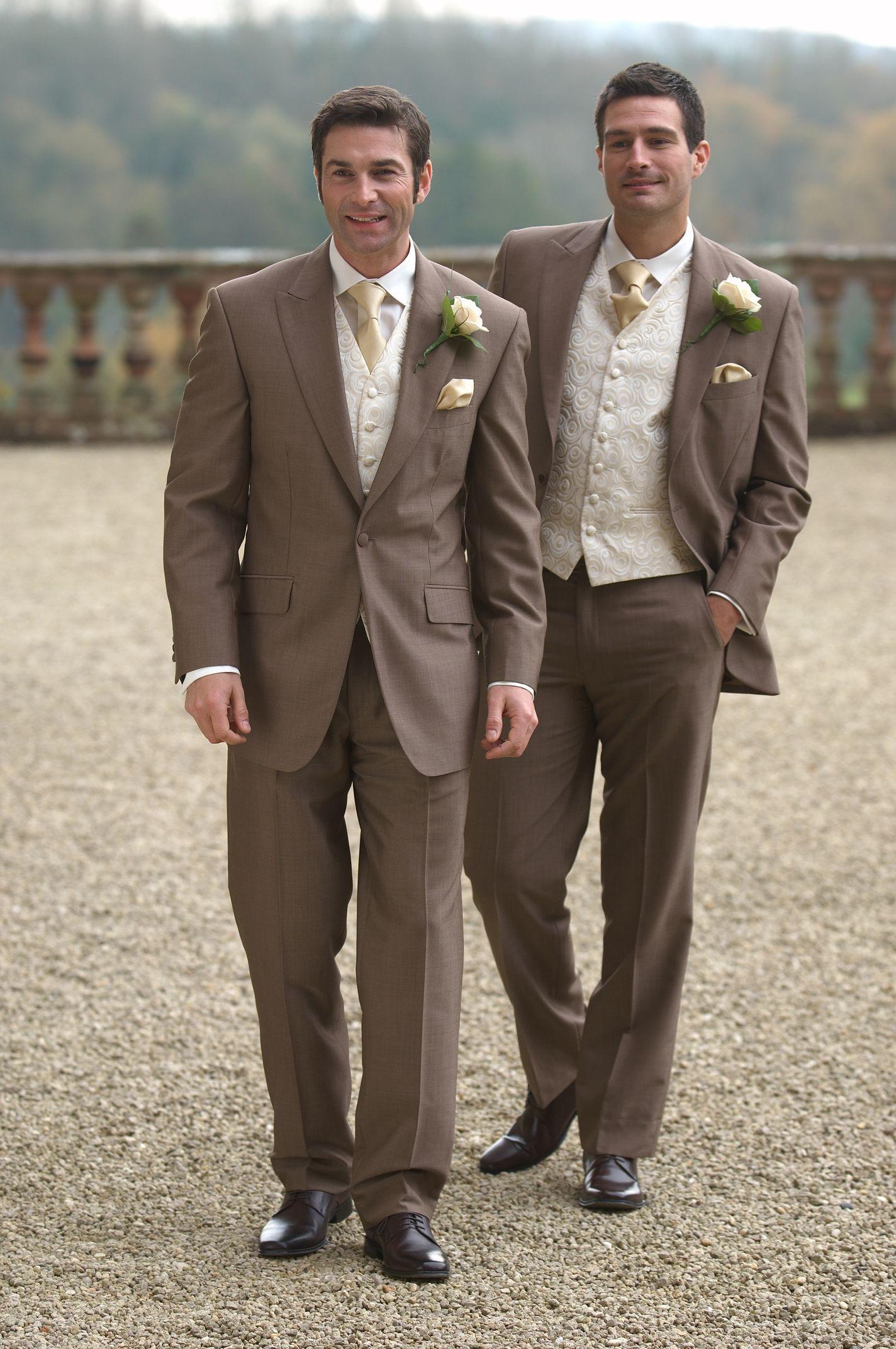 Lounge Suits Regency Groom Regency Groom Wedding Suits Men Groom Suit Brown Suit Wedding