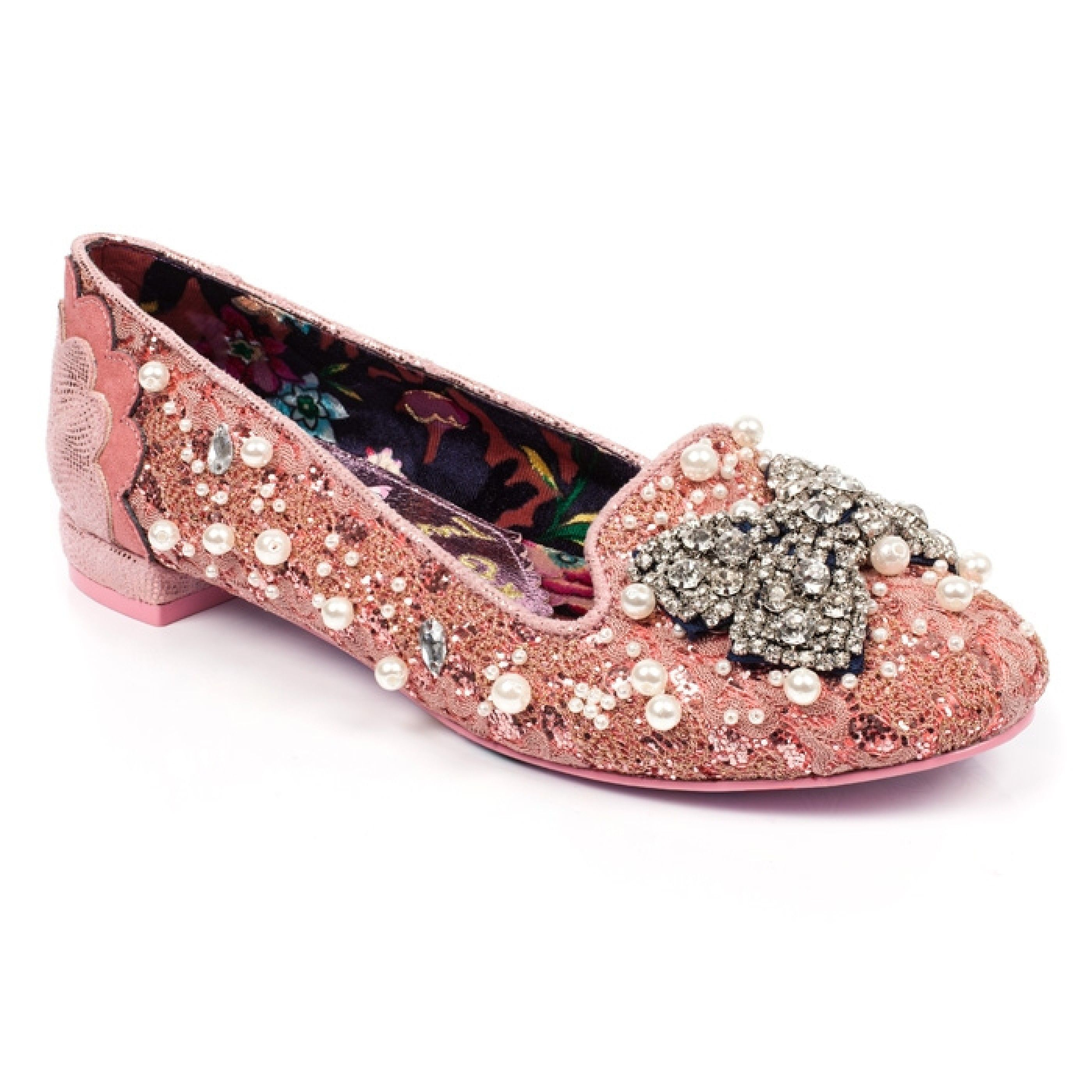 Irregular Choice Dew Drops Embellished Flat - , Women