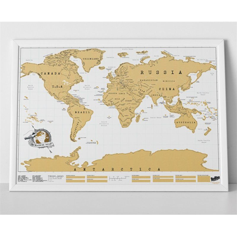 Image result for scratch map framed bedroom things pinterest world map stickers travel scratch off map personalized world map poster wall sticker traveler log geographic map of the world gumiabroncs Image collections