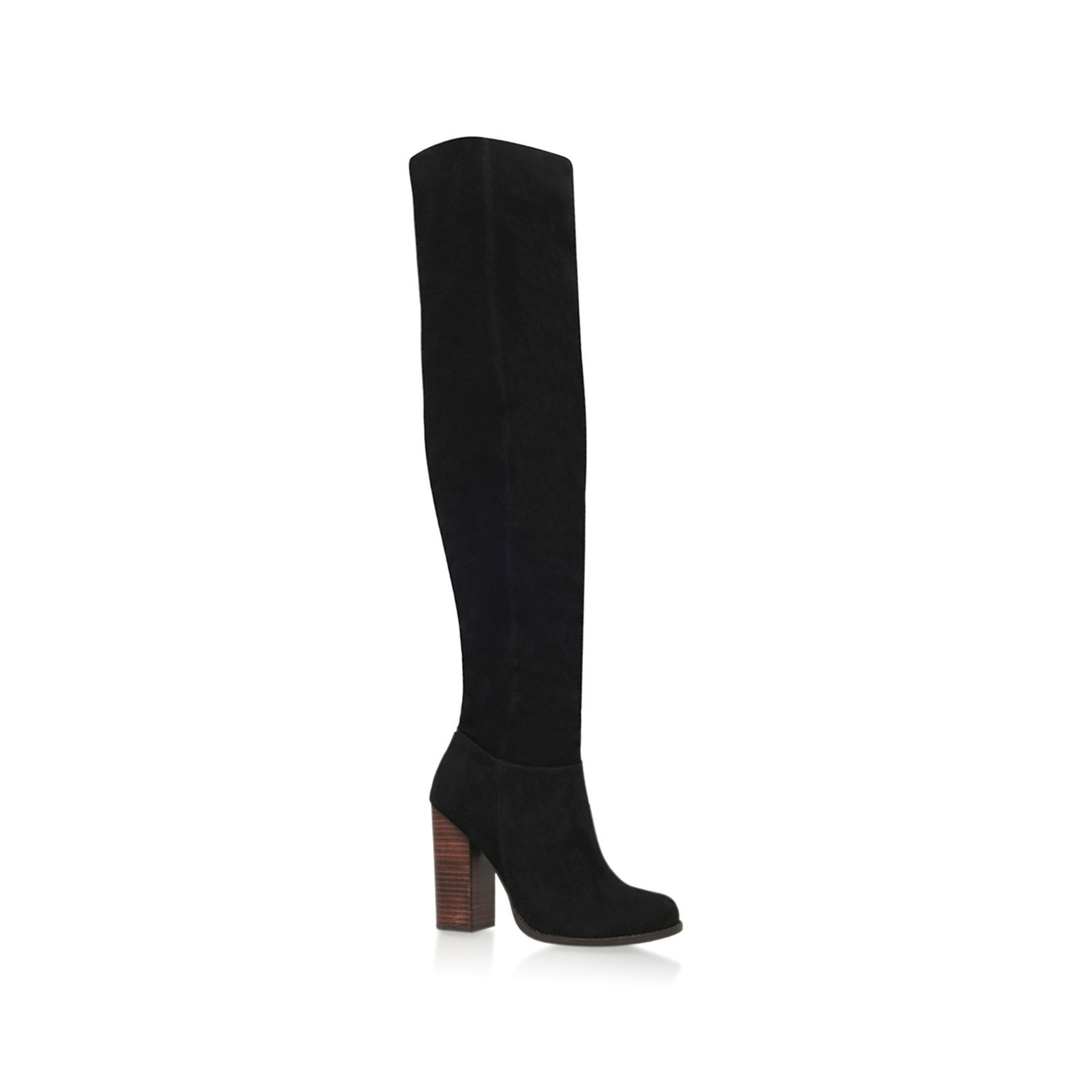 Miss KG Venice high heel knee boots, Black