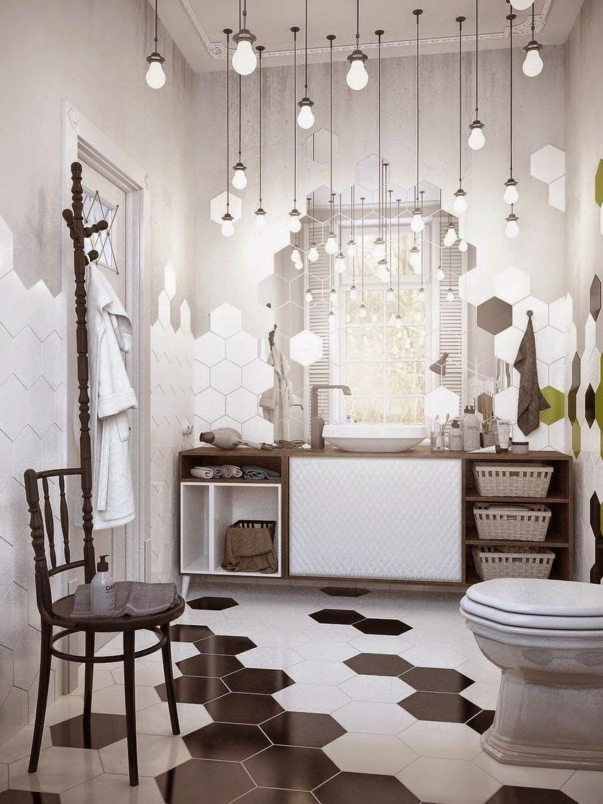 Carrelage Salle De Bain Jungle ~ salle bains mechant studio via nat et nature water closet