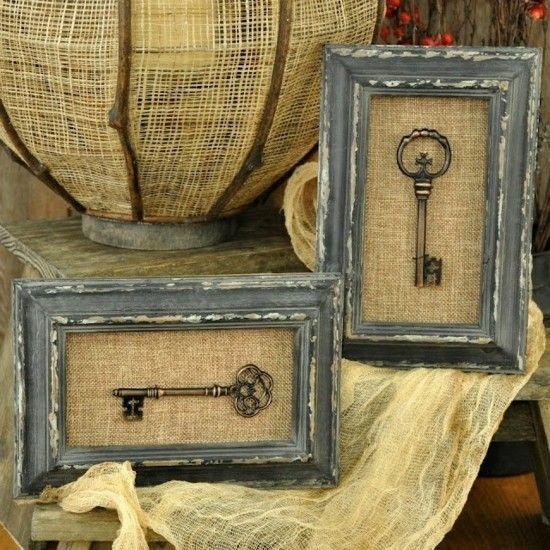 Photo of Basteltipps und Dekoideen mit alten Schlüsseln