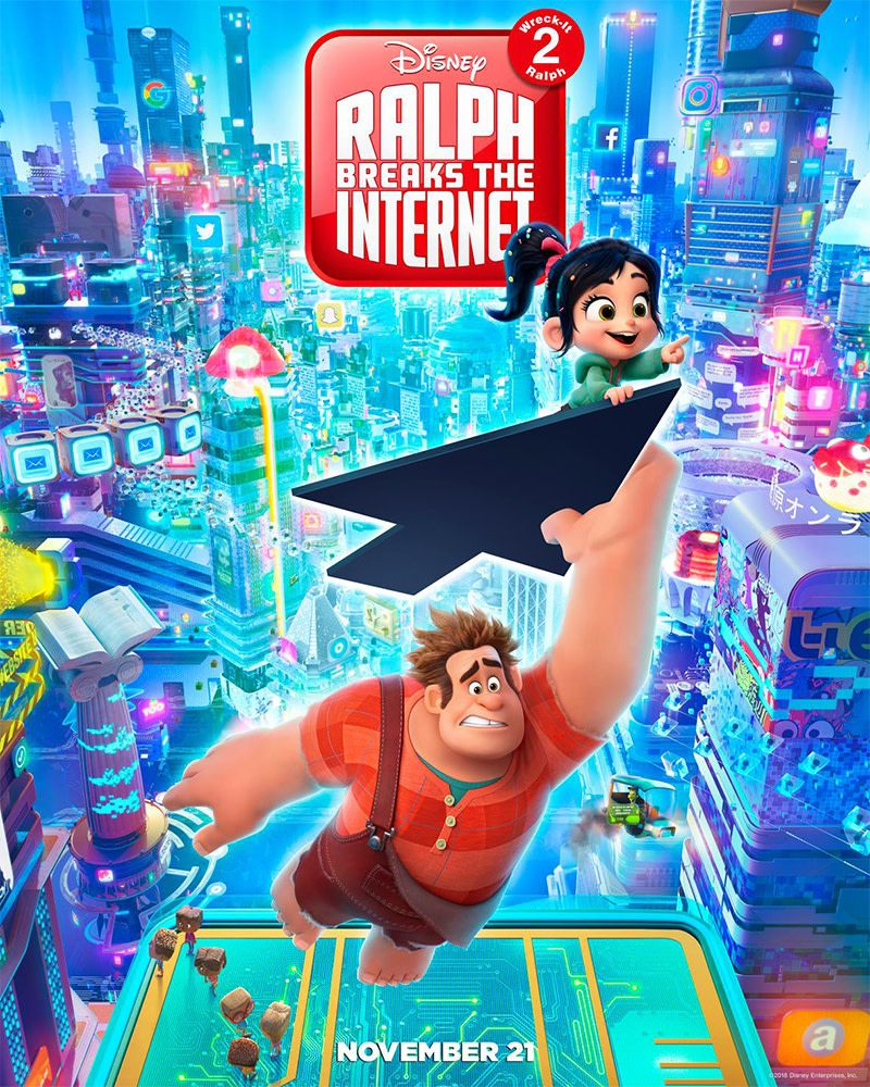 Detona Ralph 2 E As Princesas Disney Com Imagens Detona Ralph