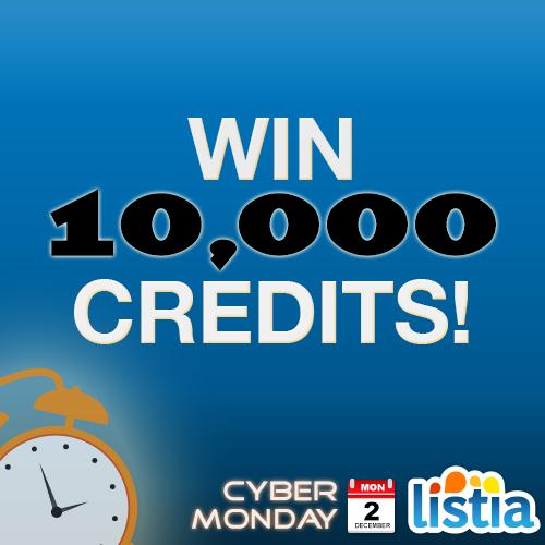 10,000 Listia Credits!