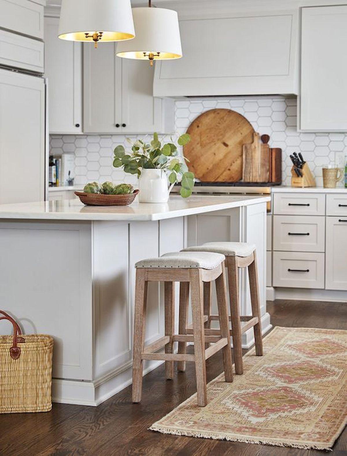 45 best modern farmhouse kitchen island decor ideas