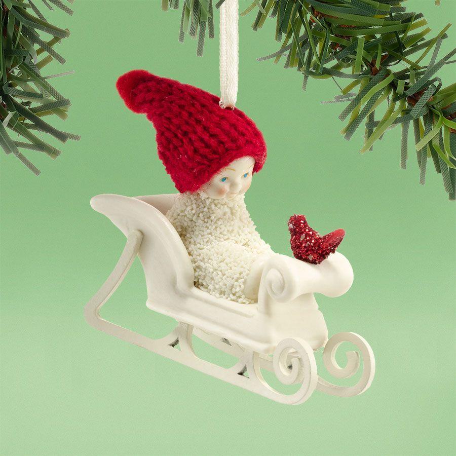 Department 56 snowbabies ornaments - Department 56 Snowbabies Jingle All The Way Ornament