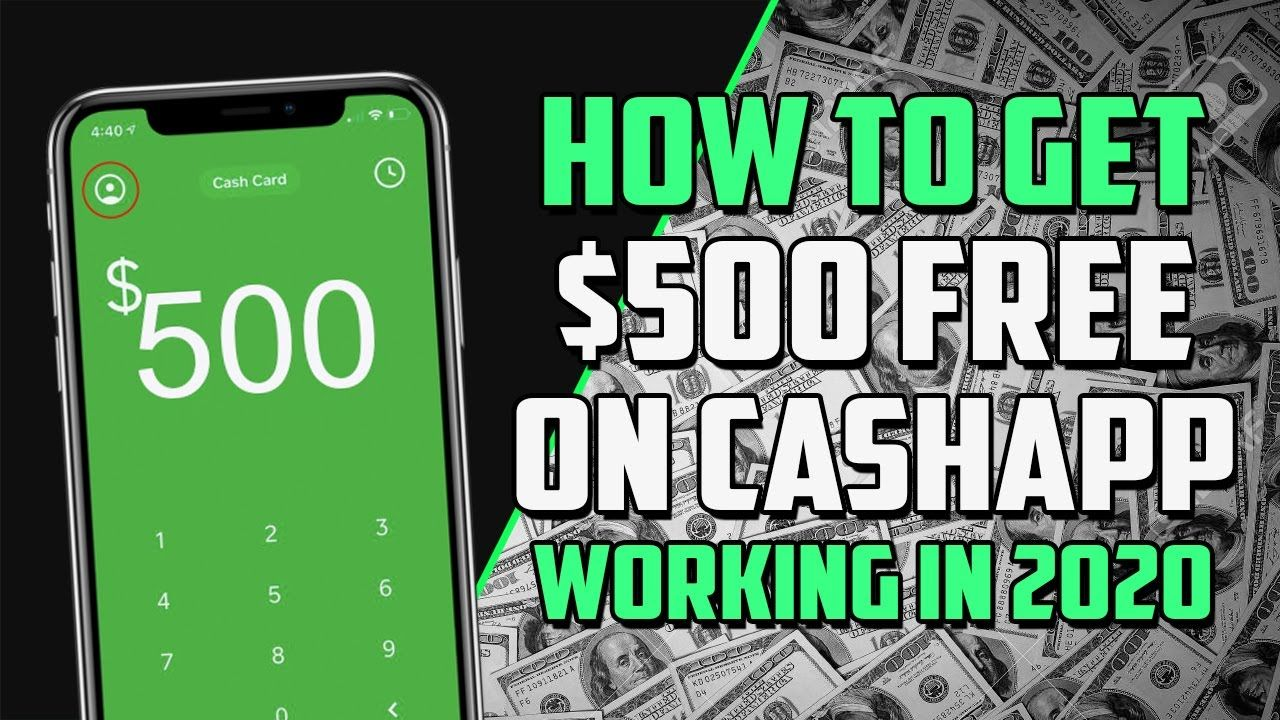 Cash App Hack How To Get Free Cash App Money Tutorial Cash Card App Free Money