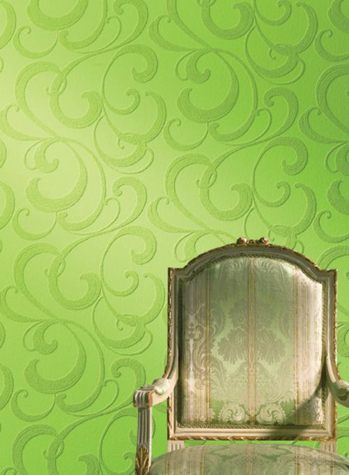 add dimension: textured wallpaper. | painting, small house addict